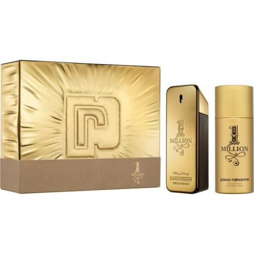 Paco Rabanne 1 Million Men Set 100ml eau de toilette spray + 150ml deodorant spray