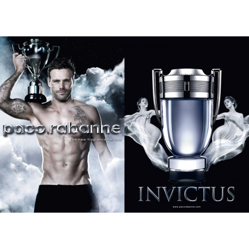 Paco Rabanne Invictus Set 50ml eau de toilette spray +100ml Showergel