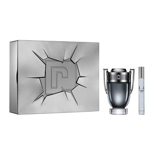 Paco Rabanne Invictus Intense Set 100ml eau de toilette spray + 10ml edt Miniatuur