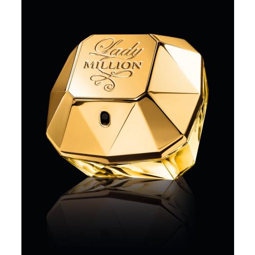 Paco Rabanne Lady Million Set 80ml eau de parfum spray + 20ml eau de parfum Tasspray