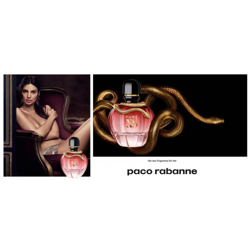 Paco Rabanne Pure XS For Her Set 50ml Eau de Parfum Spray + 75ml Bodylotion
