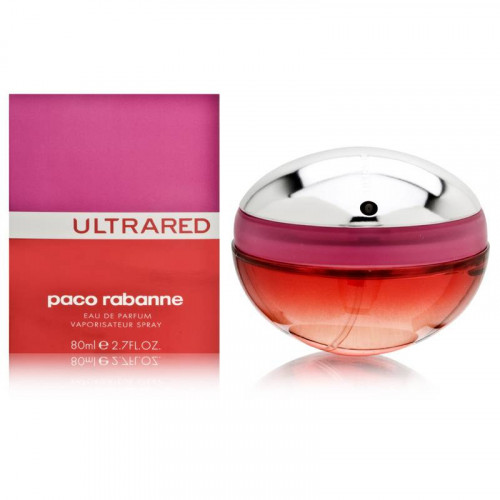 Paco Rabanne Ultrared woman 80ml eau de parfum spray