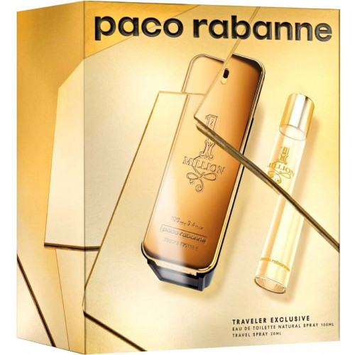 Paco Rabanne 1 Million Men Set 100ml eau de toilette spray +20ml edt spray