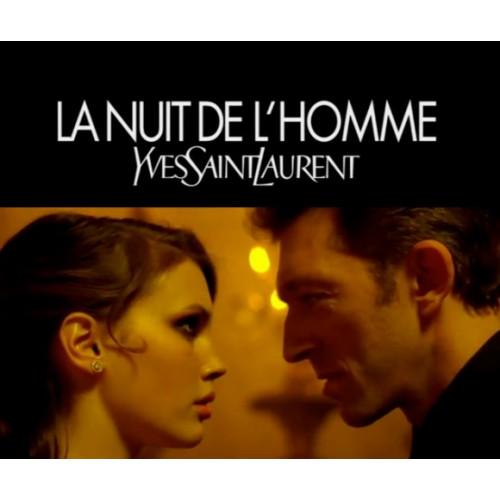YSL Yves Saint Laurent La Nuit de l'Homme Set 100ml eau de toilette spray + 75ml Deodorant Stick