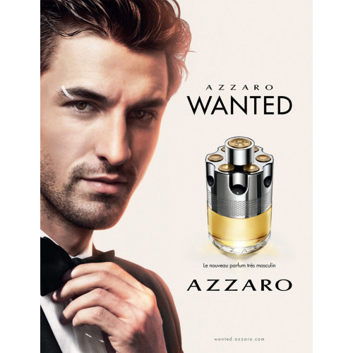 Azzaro Wanted Set 100ml eau de toilette spray + 150ml Deodorant Spray