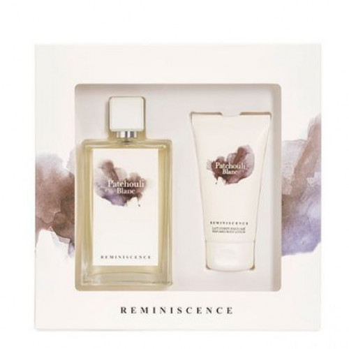 Reminiscence Patchouli Blanc set 100ml eau de parfum spray + 75ml Bodylotion