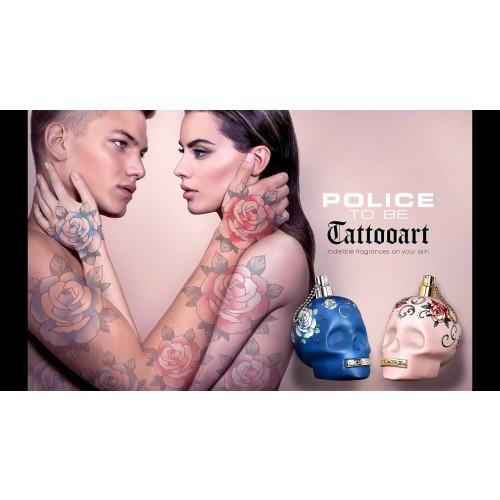 Police To Be Tattooart 125ml eau de toilette spray