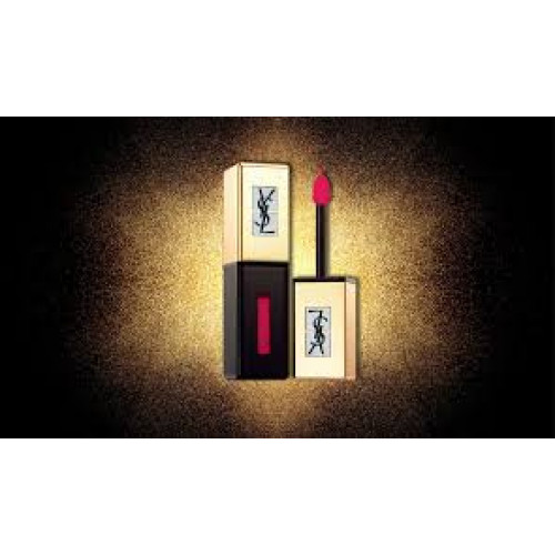 Yves Saint Laurent YSL Vernis à Lèvres Glossy Stain Pop Water Lipgloss 201 Dewy Red