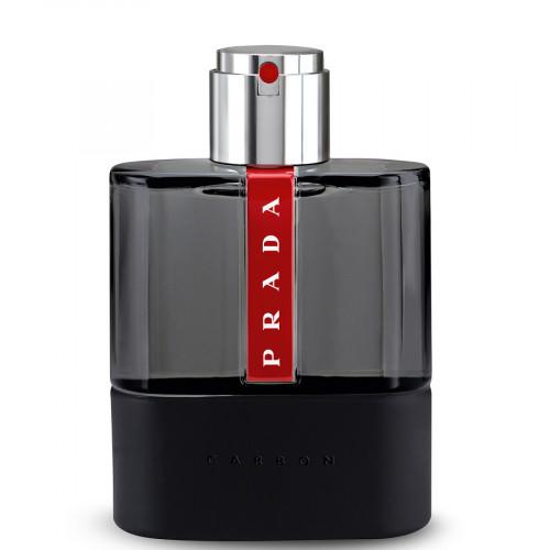 Prada Luna Rossa Carbon set 100ml eau de toilette spray + 100ml Aftershave Balm + 10ml edt spray
