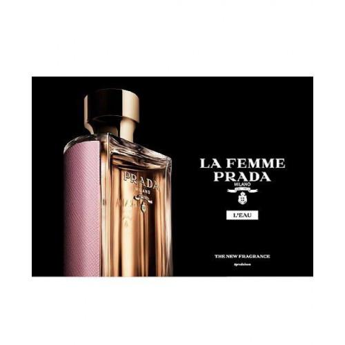 Prada La Femme L'Eau Set 100ml eau de toilette spray + 100ml Bodylotion + 10ml Roll On
