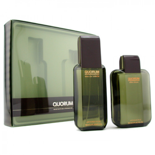 Puig Quorum Geschenkset 100ml edt + 100ml after shave