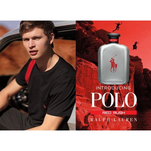 Ralph Lauren Polo Red Rush 125ml eau de toilette spray