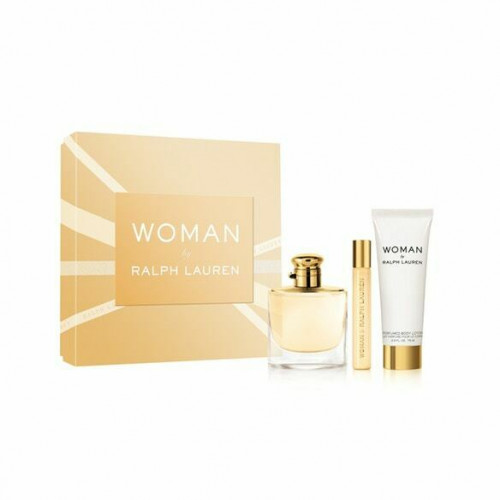 Ralph Lauren Woman Set 50ml eau de parfum spray + 50ml Bodylotion + 10ml edp Tasspray
