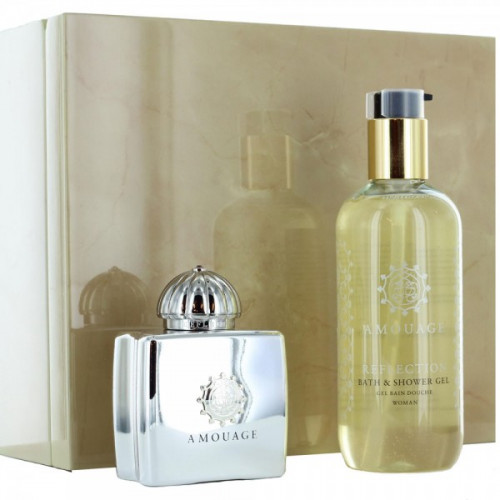Amouage Reflection Woman Set 100ml eau de parfum spray + 300ml Bodylotion