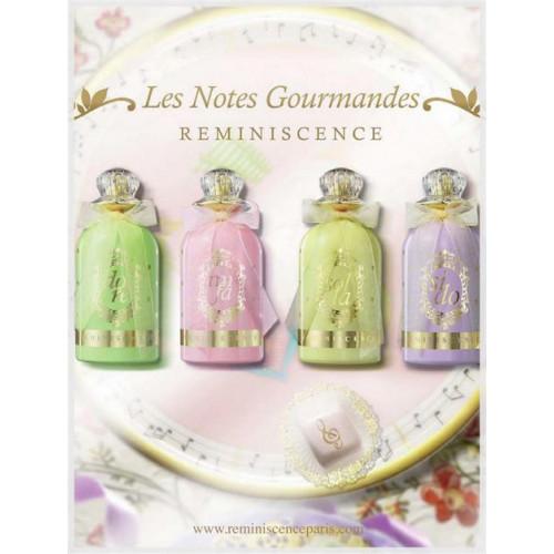 Reminiscence Les Notes Gourmandes Set 3x 50ml  edp Dragée  Guimauve Heliotrope