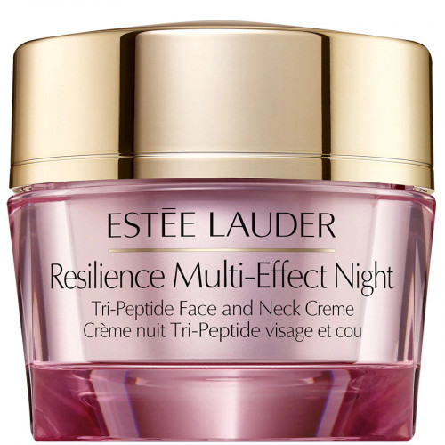 Estee Lauder Resilience Multi-Effect Night Tri-Peptide Face & Neck Creme All Skintypes 50ml Nachtcrème