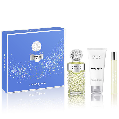 Rochas Eau de Rochas Femme set 100ml eau de toilette spray + 100ml Bodylotion + 20ml edt