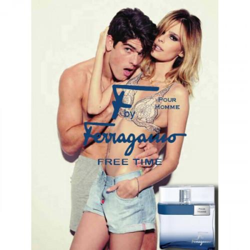 Salvatore Ferragamo F by Ferragamo Free Time 50ml eau de toilette spray