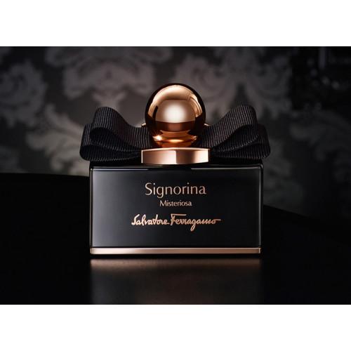 Salvatore Ferragamo Signorina Misteriosa Set 100ml Eau De Parfum Spray + 10ml edp + 50ml Bodylotion