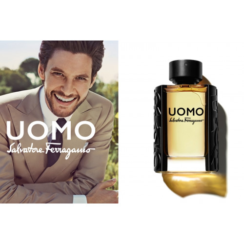Salvatore Ferragamo Uomo Set  100ml eau de toilette spray + 10ml edt + 100ml Showergel