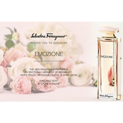 Salvatore Ferragamo Emozione 92ml Eau De Parfum Spray