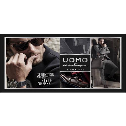 Salvatore Ferragamo Uomo Signature Set 100ml eau de parfum spray + 10ml edp+ 100ml Showergel