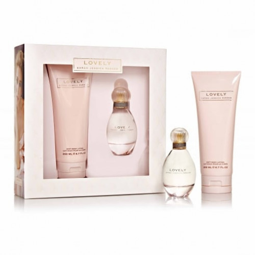 Sarah Jessica Parker Lovely Set 50ml eau de parfum spray + 200ml Bodylotion