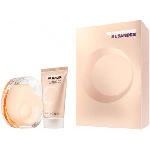 Jil Sander Sensations set 40ml eau de toilette spray + 50ml Bodylotion