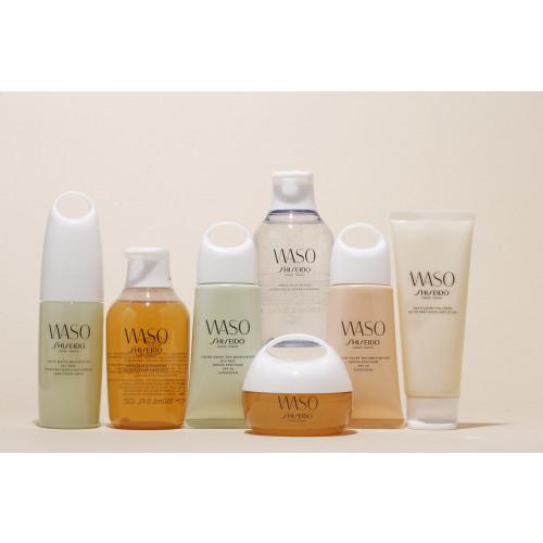 Shiseido Waso set Clear Mega-Hydrating Cream 50ml Gezichtscrème +  Gentle Cleanser 30ml + Beauty Sleeping Mask 1,5 ml