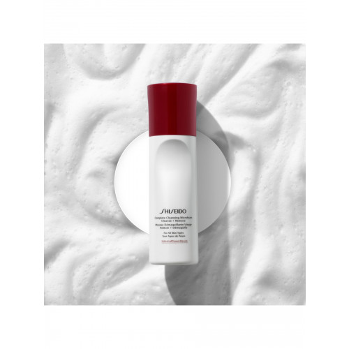 Shiseido Complete Cleansing Microfoam 180 ml  All Skin Types