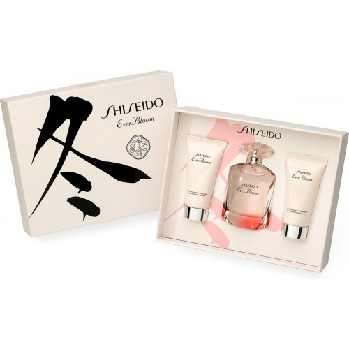 Shiseido Ever Bloom set 50ml eau de parfum spray + 50ml Showercream + 50ml Bodylotion