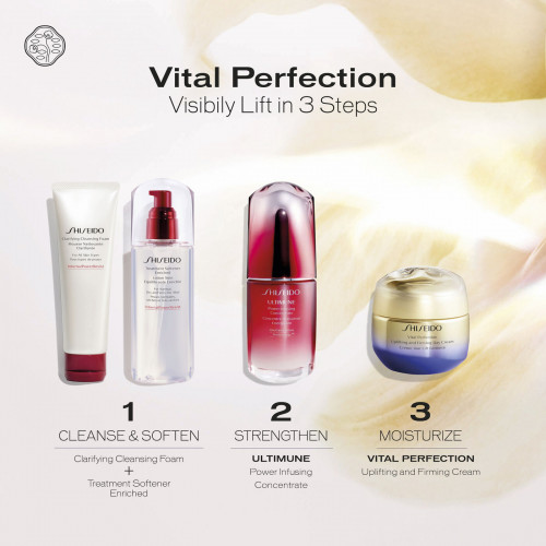 Shiseido Vital Perfection Uplifting & Firming Day Emulsion 75ml Gezichtsemulsie SPF30
