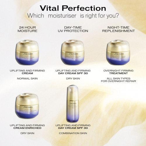 Shiseido Vital Perfection Uplifting and Firming Day Cream 50ml Dagcrème
