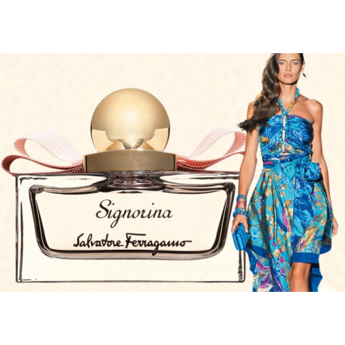 Salvatore Ferragamo Signorina 100ml Eau De Toilette Spray