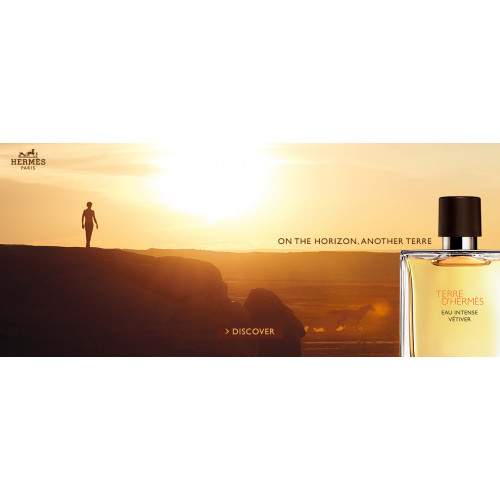 Hermes Terre d'Hermes Eau Intense Vetiver 100ml eau de parfum spray + 80ml showergel
