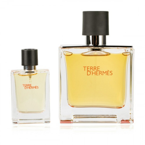 Hermès Terre d'Hermès Set 75ml parfum spray + 12.5ml edp