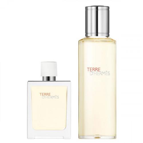Terre d'Hermes Eau Très Fraîche Set 30ml eau de toilette spray + 125ml edt navulling