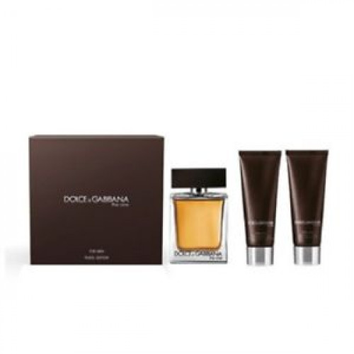 Dolce & Gabbana The One for Men Set 100ml eau de toilette spray + 50ml Showergel + 50ml Aftershave Balsem