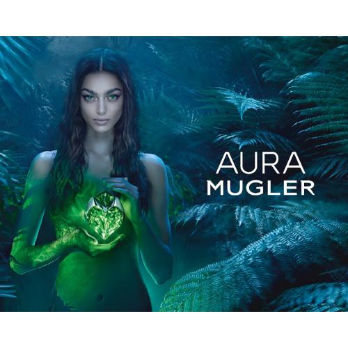 Thierry Mugler Aura Set 50ml eau de parfum spray Navulbaar + 5ml edp Miniatuur