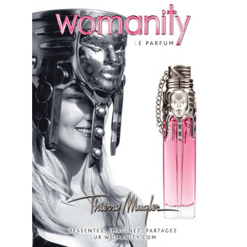 Thierry Mugler Womanity 80ml eau de parfum spray Navulbaar