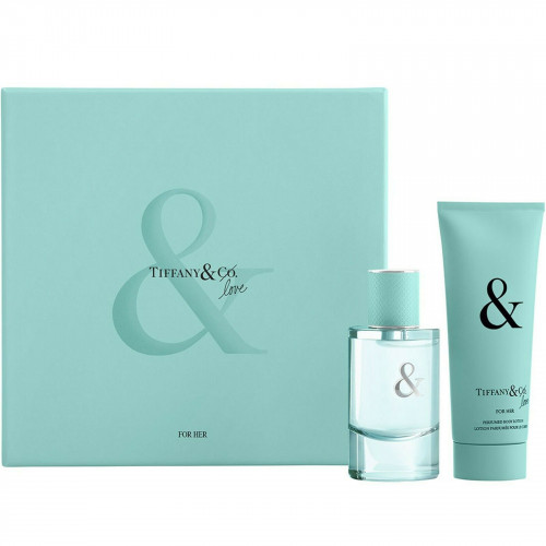 Tiffany & Co & Love For Her Set 50ml eau de parfum spray + 100ml Bodylotion