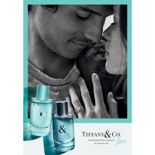 Tiffany & Co & Love For Her Set 50ml eau de parfum spray + 100ml Bodylotion