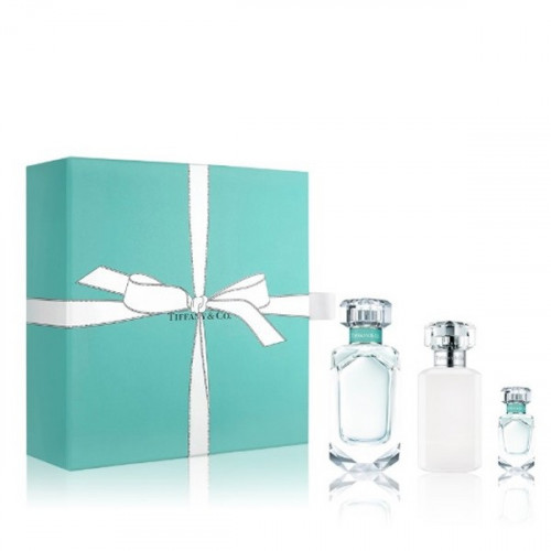 Tiffany & Co Set 75ml eau de parfum spray + 100ml Bodylotion + 5ml edp Miniatuur