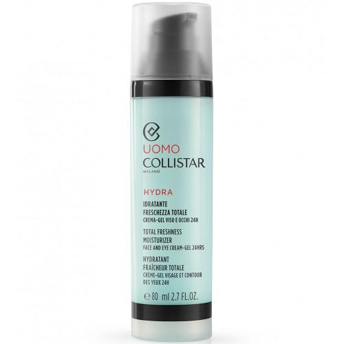 Collistar Uomo Total Freshness Moisturizer Face and Eye Cream Gel 24h 80ml Dagcrème