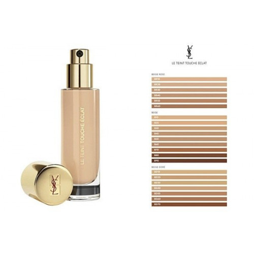 Yves Saint Laurent Touche Éclat Le Teint Foundation BD60 Warm Amber