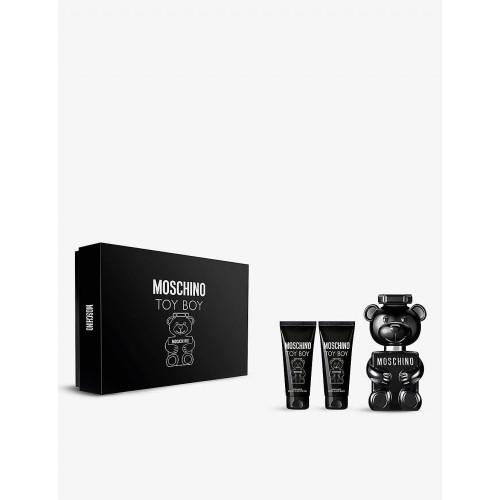 Moschino Toy Boy Set 50ml eau de parfum spray + 50ml Showergel + 50ml Aftershave Balsem