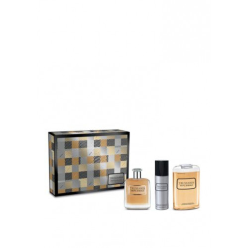 Trussardi Riflesso Set 100ml Eau De Toilette Spray + 200ml Showergel + 100ml Deodorant
