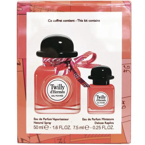 Hermes Twilly d'Hermès Eau Poivree set 50ml eau de parfum spray + 7,5ml miniatuur