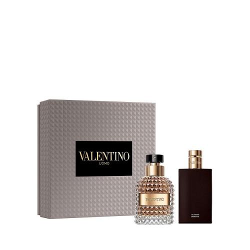 Valentino Uomo Set 50ml eau de toilette spray + 100ml Showergel