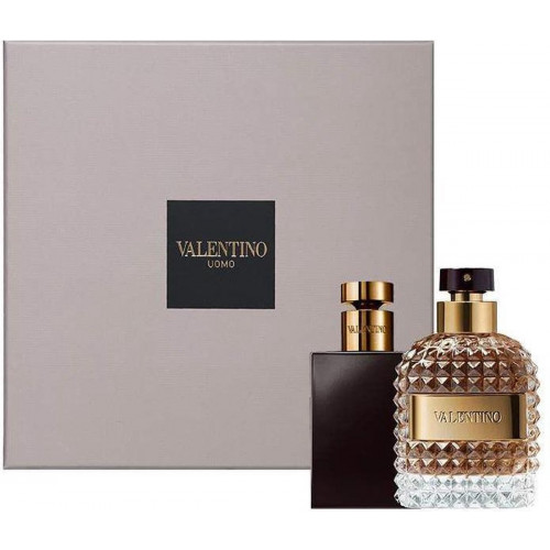 Valentino Uomo Set 50ml eau de toilette spray + 100ml Showergel